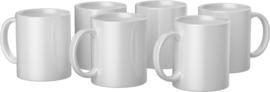 Cricut Mugs White (Cricut Mokken) 350 ml - 6 stuks   2008942