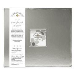 Doodlebug Design Silver 12x12 Inch Storybook Album (5725)