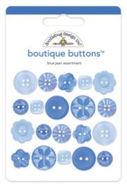 Doodlebug Design Blue Jean Boutique Buttons