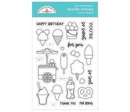 Doodlebug Design Food at the Park Doodle Stamps