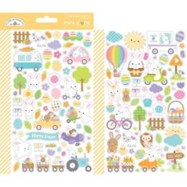 Hippity Hoppity Mini Icons Sticker