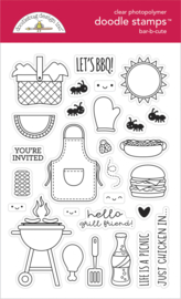 Doodlebug Design Bar-b-cute Doodle Stamps