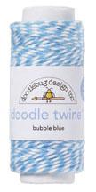 Doodlebug Design Bubble Blue Doodle Twine