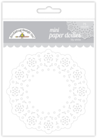 Doodlebug Design Lily White Mini Doilies