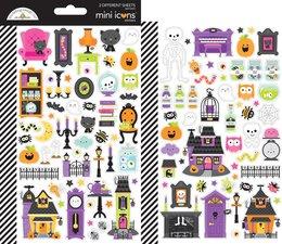 Doodlebug Design Happy Haunting Mini Icons Sticker