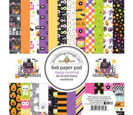 Doodlebug Design Happy Haunting 6x6 Inch Paper Pad