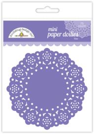 Doodlebug Design Lilac Mini Doilies