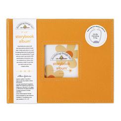 Doodlebug Design Tangerine 8x8 Inch Storybook Album (2736)