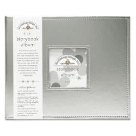 Doodlebug Design Silver 8x8 Inch Storybook Album (5731)