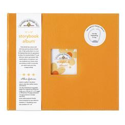 Doodlebug Design Tangerine 12x12 Inch Storybook Album (2725)