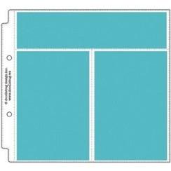 Doodlebug Design Vertical Photo/Recipe Card Protectors 8x8 Inch (12pcs) (3499)