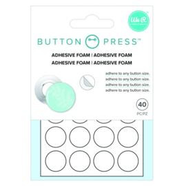 Button press zelfklevend foam 40stuks