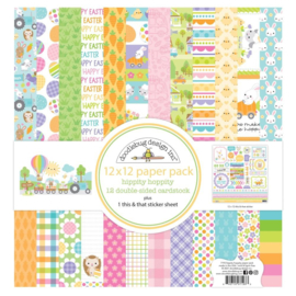 Hippity Hoppity 12x12 Inch Paper Pack