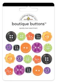 Doodlebug Design Spooky Town Boutique Buttons