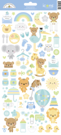 Doodlebug Design Special Delivery Icons Stickers
