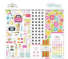 Doodlebug Design Cute & Crafty 12x12 Inch Essentials Kit