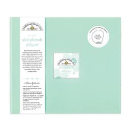 Doodlebug Design Mint 12x12 Inch Storybook Album (5722)
