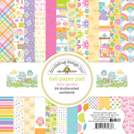 Fairy Garden 6x6 Inch Paper Pad (7233)