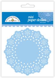 Doodlebug Design Blue Jean Mini Doilies