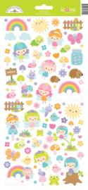 Fairy Garden Icons Stickers (7219)