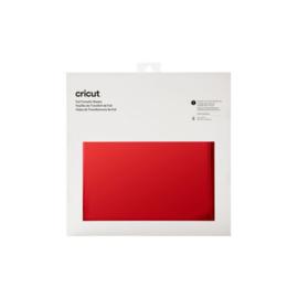 Cricut Foil Transfer Sheets 30x30cm Red (8pcs) (2008721)