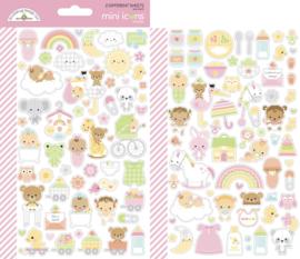 Doodlebug Design Bundle of Joy Mini Icons Stickers