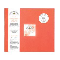 Doodlebug Design Coral 12x12 Inch Storybook Album (5721)