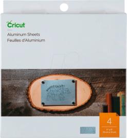 Cricut Aluminium Sheets 4x4 Inch Silver