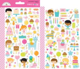 Doodlebug Design Hey Cupcake Mini Icons Stickers