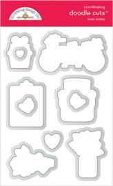 Doodlebug Design Love Notes Doodle Cuts