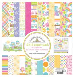 Fairy Garden 12x12 Inch Paper Pack (7234)