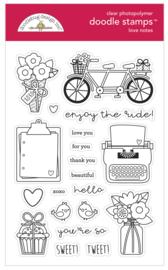 Doodlebug Design Love Notes Doodle Stamps