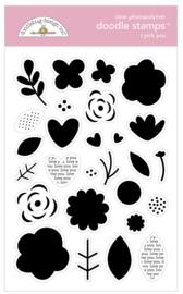 Doodlebug Design I Pick You Doodle Stamps