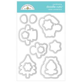 Doodlebug Design Winter Wonderland Doodle Cuts