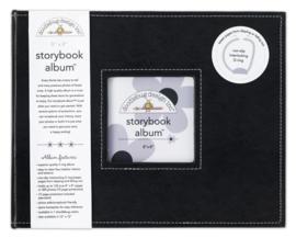 Doodlebug Design Beetle Black 12x12 Inch Storybook Album (2729)