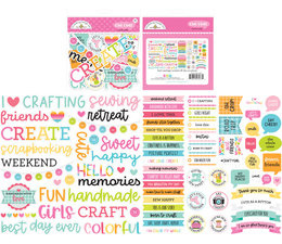 Doodlebug Design Cute & Crafty Chit Chat