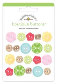 Doodlebug Design Welcome Home Boutique Buttons