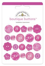 Doodlebug Design Bubblegum Boutique Buttons