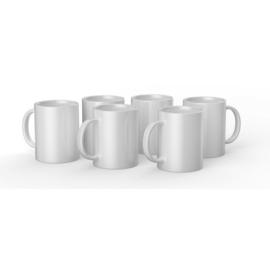 Cricut Mugs White (Cricut Mokken) 440 ml - 6 stuks   2008944