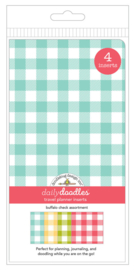 Buffalo Check Daily Doodles Travel Planner Inserts