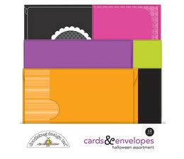 Doodlebug Design Halloween Assortment Cards & Envelopes