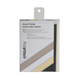 Cricut Insert Cards 12-pack Neutrals (2007253)