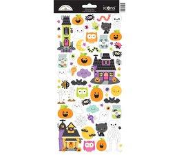 Doodlebug Design Happy Haunting Icons Stickers