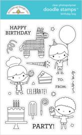 Doodlebug Design Birthday Boy Doodle Stamps