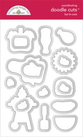 Doodlebug Design Bar-b-cute Doodle Cuts
