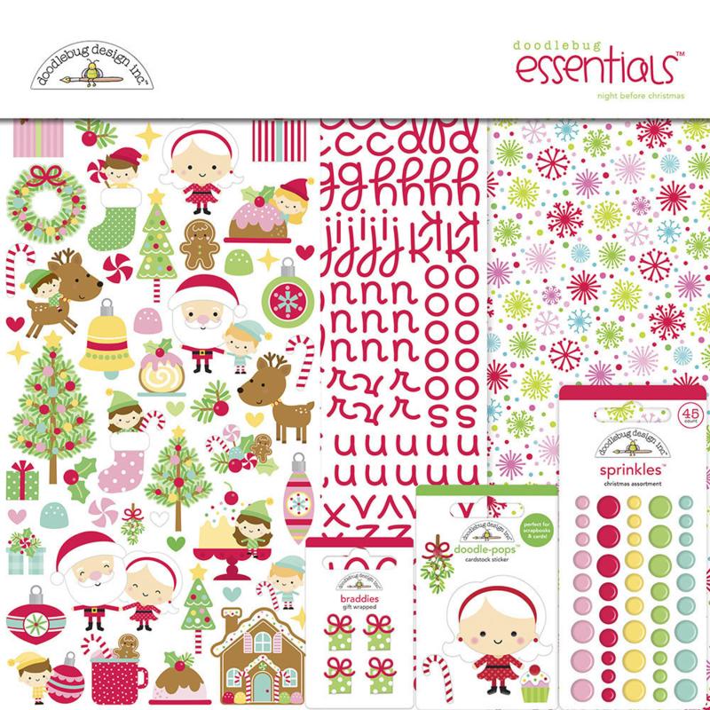 Doodlebug Design Night Before Christmas Essentials Kit