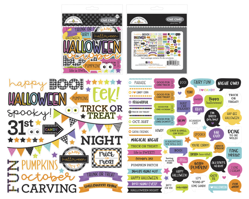 Doodlebug Design Ghost Town Chit Chat