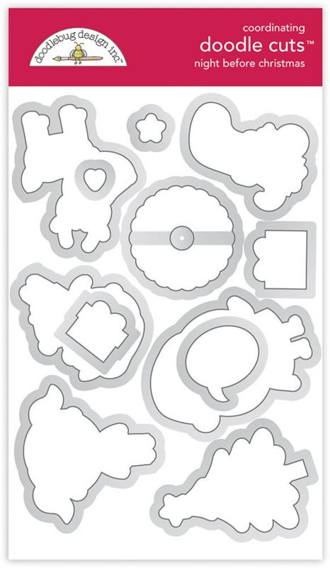 Doodlebug Design Night Before Christmas Doodle Cuts