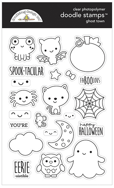 Doodlebug Design Ghost Town Doodle Stamps