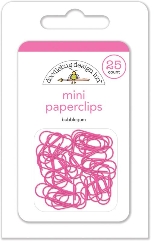 Doodlebug Design Bubblegum Mini Paperclips